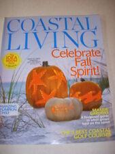 COASTAL LIVING Magazine, OCTOBER 2012, BEACH THEMED PUMPKINS, PUMPKIN CHILI!