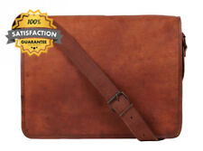 Rustic Town Leather Vintage Crossbody Messenger Courier Bag Gift Men Women...