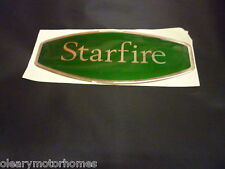 AUTOCRUISE MOTORHOME CAMPER STICKER DECAL RAISED RESIN STARFIRE