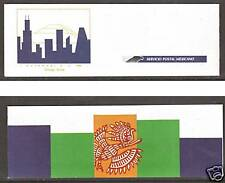 Mexico Sc 1541b MNH. 1990 CHICAGOPEX, Intact Booklet, scarce, VF