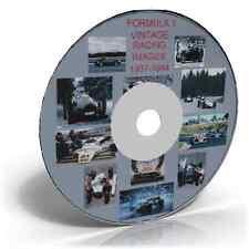 Formula 1 Vintage Racing Image's 1937-1984 DVD