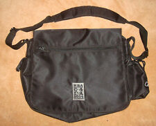REEBOK NBA ALL STARS 2000 Messenger Black Laptop Briefcase BASKETBALL BAG