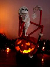 NIGHTMARE BEFORE CHRISTMAS  SANTA JACK ON PUMPKIN