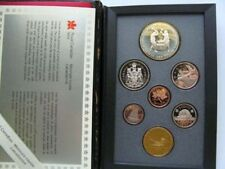 Canada 1988 proof set with Large silver 1$-Ironworks