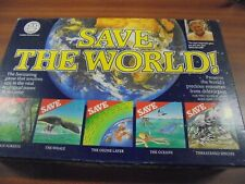SAVE THE WORLD BOARD GAME CROWN ANDREWS