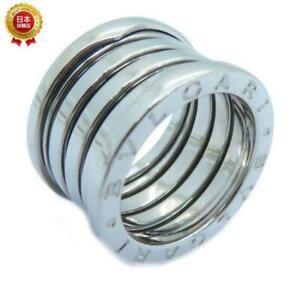 Bvlgari B-zero1 Ring Bvlgari#50 18K White Gold 1535