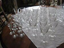Gläser Set 58teilig, 1 Bierseidel geschliffen