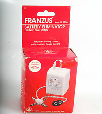 FRANZUS BATTERY ELIMINATOR 6 OUTPUT VOLTAGE SETTINGS BB-333D