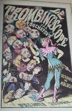 1882 le trombiniscope Touchatout dessins Moloch 1er vol caricature humour