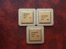 3X INTEL EAQ 639 1982 VINTAGE CERAMIC CPU FOR GOLD SCRAP RECOVERY RARE