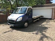63 reg Iveco Daily 2.3td Auto LWB Recovery Truck Transporter NO VAT