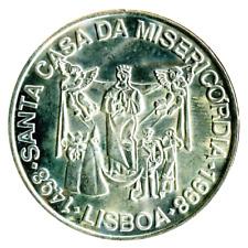 Portugal 1000 Escudos 1998. 500th Anniversary - Misericordia Church. UNC Silver.