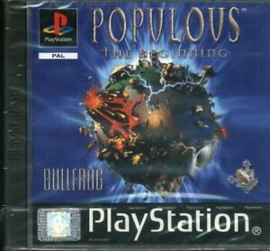 POPULOUS   playstation  PS1  USATO