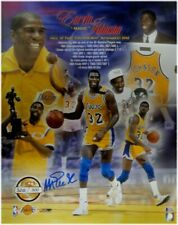 Magic Johnson Signed Autographed Auto 16X20 Photo Collage Beckett COA # /500