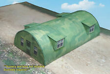 N Scale Building - Army Quonset Hut **Pre-Cut** CARD STOCK (PAPER) Kit #QH6N