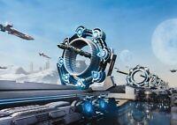 A1 Futuristic Spacecraft Fantasy Poster Art Print 60 x 90cm 180gsm Gift #14101