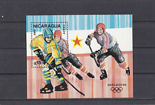 Nicaragua 1984 - Sport  (Hockey)