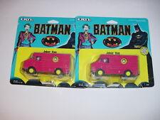 1/64 Vintage Batman Joker Diecast Vans by ERTL NIP!