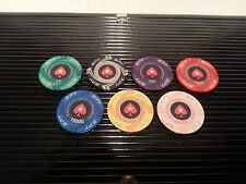 NEW DESIGN! EPT Casino Quality Ceramic Poker Chips - 7 chip sample