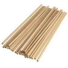 Wooden Craft Dowel, Natural, 10-Inch, 25-Piece