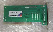 Startech 1 Single Port Low Profile PCI Parallel Adapter Card PCI1P_LP 1.5Mbps