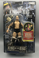 WWF WWE King of the Ring STONE COLD STEVE AUSTIN 2001 Limited Edition New