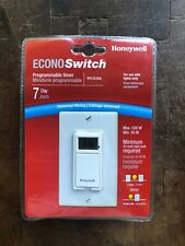 Honeywell Econo Switch Programmable Timer RPLS530A