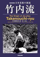 The Origin of Jiu-jitsu Takenouchi-ryu Book Martial Arts Jujutsu