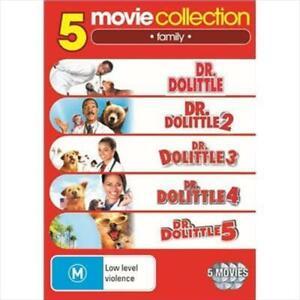 Dr Dolittle 1- 5 DVD