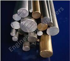 Aluminium, Brass, Stainless & Mild Steel Rod Bar 3, 4, 5, 6, 8, 10 & 12mm Dia
