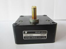 SERVO GEAR HEAD 10G100H N09