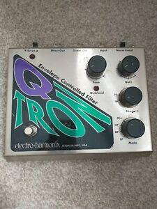Electro Harmonix Q-Tron Pedal envelope controlled filter auto wah