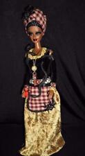 Marie Laveau Creole practitioner of Voodoo Barbie doll ooak AA Dakota's Song