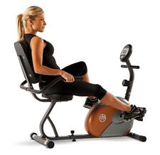 Recumbent Exercise Bike Seated 8 Levels Preset Resistance Easy-to-Adjust Tension