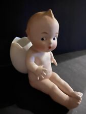 Large Heubach All Bisque Googly Action Boy Easter Egg Germany Antique Piano Baby