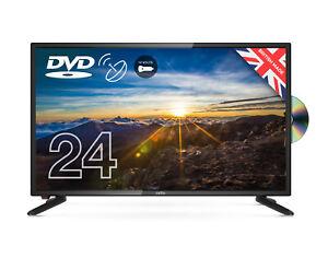 "CELLO 24"" inch 12v LED TV DVD FREEVIEW HD HDMI USB VGA SAT CARAVAN TV - 12 VOLT"