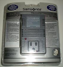 SAMSONITE TRAVEL 60 WATT STEP DOWN TRANSFORMER 220/240-110/120 CANADA USA MEXICO