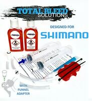 * TBS Road Bike Bleed Kit for ALL Shimano + Funnel Adapter + Fluid *  R8070 Di2