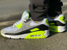Nike Air Max 90 White/Volt/Black Men's Trainers in Various Sizes
