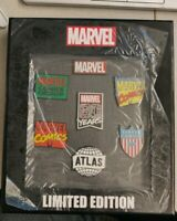 Marvel NYCC 2019 Exclusive Comics 80th Anniversary Logo Pin Sets Limited 120