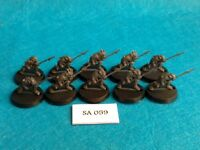Lord of The Rings - Moria Spearmen Orcs x10 -  SA59