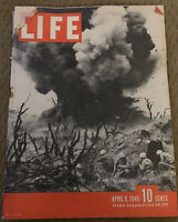 LIFE Magazine-April 9,1945-Iwo Jima Blast / Hitler's Last Resort / War Ending