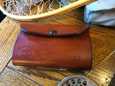 Witmer Handcrafted Leather Fly Fishing Wallet with inner Pocket , American Flag