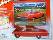 Johnny Lightning 1962 CHEVY BEL AIR Trix Red '62 Belair '62 Chevrolet Bel Air