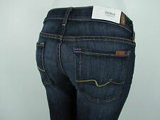 NEW 7 Seven For All Mankind BOOTCUT Jean Woman SZ 30 IN NOUVEAU NEW YORK DARK