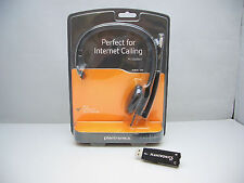 Plantronics Audio 610-USB Monaural 2-in-1 Computer PC Headset for Internet Chat