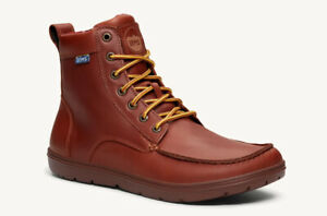 Lems Boulder Boot Leather Q Control 2nd Russet Brown 7 UK Fits 6.5UK Best RP£155