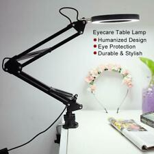 Flexible Swing Arm Reading Clamp Mount Lamp Office Home Table Desk Work Light