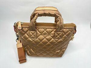MZ WALLACE Metallic Micro Sutton Bag