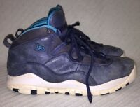 low priced 4245a 82aed Nike Air Jordan 10 Retro BG Sneakers 310806-404 Ocean Fog Mid Nvy-
